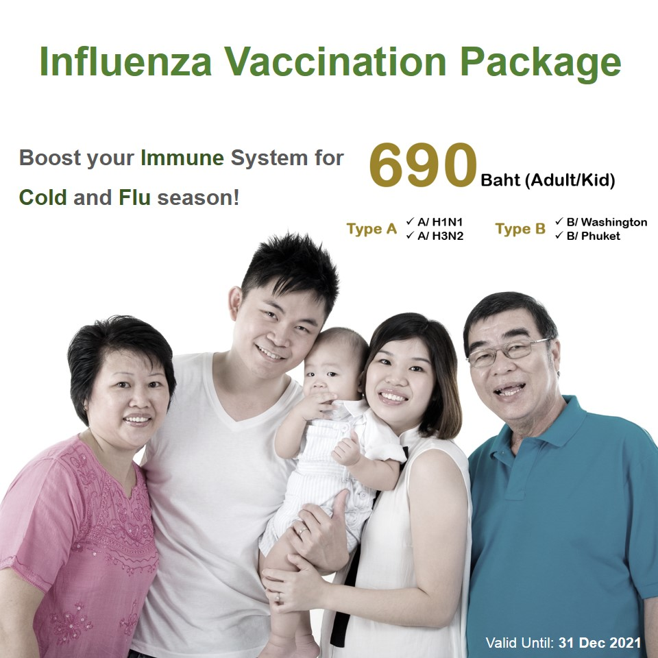 Flu Vaccination Package